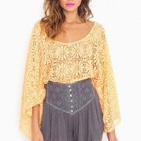 Asteria Crochet Shorts - NASTY GAL