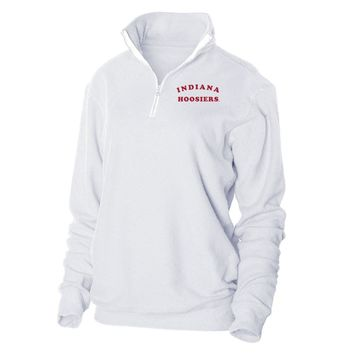 Official NCAA Indiana University Hoosiers  - RYLIU01 Herrington Fleece 1/4 Zip Up Sweatshirt