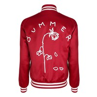 Bummer Red Bomber Jacket