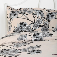 Urban Outfitters - Plum & Bow Bird Blossom Sham - Set Of 2