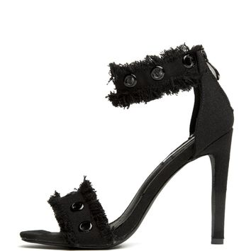 Cape Robbin Alza-41 Black Women's High Heels