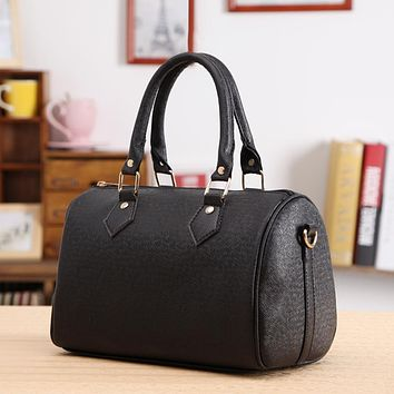 New Popular Simply Style  PU Leather Women Shoulder Bags Tote Purse Messenger Female handbag For women Hand bags 4Colors  #EY