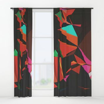 All the Lights Window Curtains by duckyb