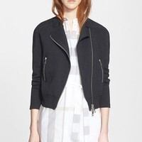 Women's Burberry Brit Knit Moto Jacket