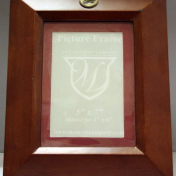 Colorado Avalanche 5x7 Wood Picture Frame