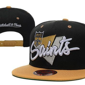 New Orleans Saints Snapback NFL Football Cap M&N