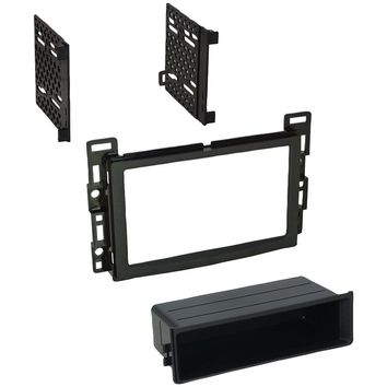 Best Kits Chevrolet And Gm And Pontiac And Saturn 2005-2012 Double-din And Single-din With Pocket Kit