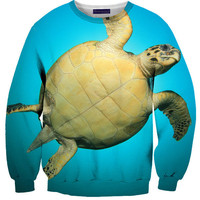 I Love Turtles Sweater