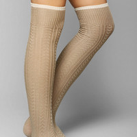 Tipped Cuff Over-The-Knee Sock - Urban Outfitters