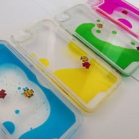 Fish Tank Liquid Aquarium Swimming Case For Phone iPhone 4 4S 5 5S
