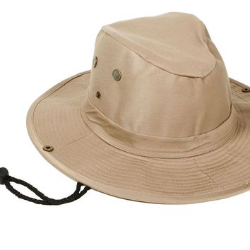 Safari Bucket Hat Men Women Outdoor Sun Protection Boonie Bucket Hat