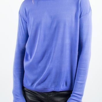 Lilac Turtleneck Sweater