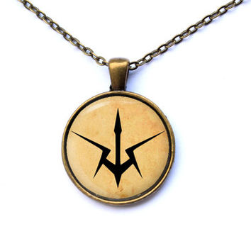 Knights symbol pendant Anime jewelry Code Geass necklace