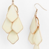 Carole Enameled Chandelier Earrings (Juniors)