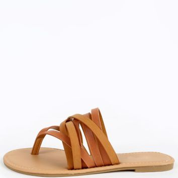 Dollhouse Hippie Thong Strappy Sandals