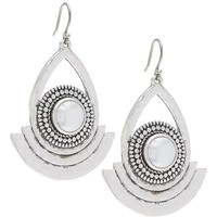Lucky Brand Statement Earring Womens - Silver (One Size)