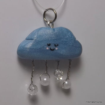 Polymer Clay Charm Kawaii Polymer Clay by PitterPatterPolymer