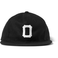 Ebbets Field Flannels - Osaka Tigers Appliquéd Wool Baseball Cap | MR PORTER
