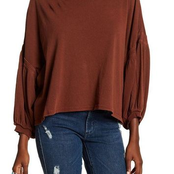 DCCKHB3 Free People | Sugar Rush Dolman Sleeve Blouse