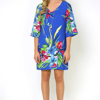Bright Bouquet Shift Dress