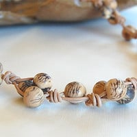 Acai Nut Necklace Natural