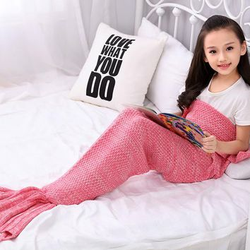Stroller Mermaid Tail Blanket poussette car-covers sleeping covers couverture bebe kids stroller accessories cobertor baby deken