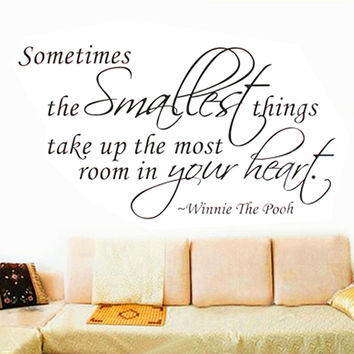New!!!Removable DIY Sometimes The Smartest Thing Quote Wall Sticker Vinyl Decal Art Home Bedroom Living Room Decor