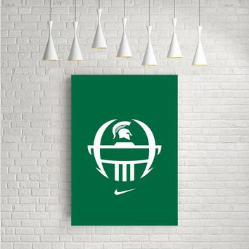 MICHIGAN STATE NIKE ARTWORK POSTERS
