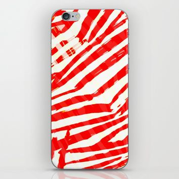 let's go a red blood trip iPhone & iPod Skin by hardkitty