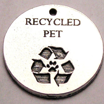 Recycled Pet Animal Rescue Genuine American Pewter Charm