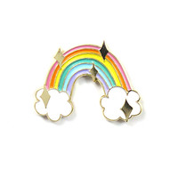 Sparking Rainbow Pin