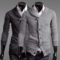 Designer Slim Fit Men Fashion Cardigan