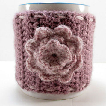 Knit tea cup cozy, Knit coffee cup cozy, Knit cup sweater, Coffee mug cozy, Mug warmer, Coffee mug sweater, Coffee mug warmer, Cup sleeve