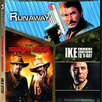 Tom Selleck - Ike: Countdown to D-Day / Runaway 1984 Shadow Riders, the - Set
