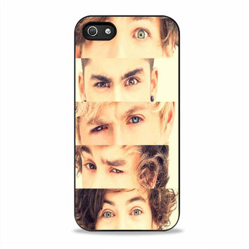 one direction band face Iphone 5S Cases