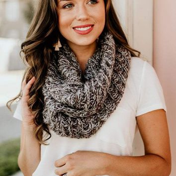 You May Be Right Neutral Infinity Scarf