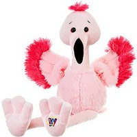 "Webkinz Fancy flamingo 8.5"" Plush"
