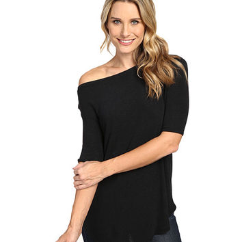 Allen Allen Elbow Sleeve Off the Shoulder Black - Zappos.com Free Shipping BOTH Ways