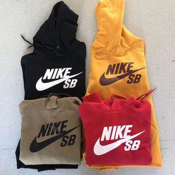 NIKE SB Women/Men Fashion Pullover Sweater Sweatshirt Hoodie I