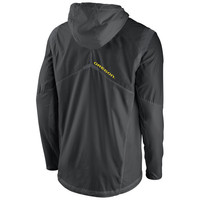 Oregon Ducks Nike Sideline Vapor Fly Rush Half-Zip Pullover Jacket - Black
