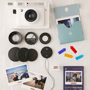 Lomography Lomo'Instant Wide Camera - White