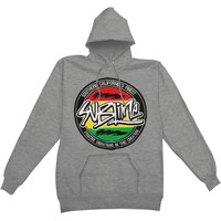 Sublime Men's  Positive Vibration Hooded Sweatshirt Heather Gunmetal
