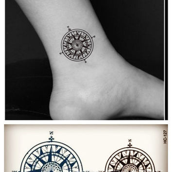 Fashion Body Art Stickers Removable Waterproof Temporary Tattoo = 4446331524