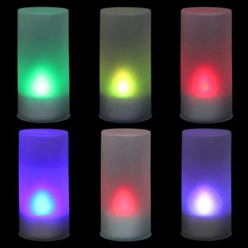 LED Electronic Color Change Flicker Candle Light