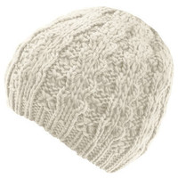 Cream cable knitted beanie hat - Hats - Accessories - Dorothy Perkins