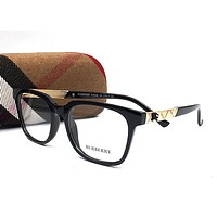 Perfect Burberry Women Edgy Optical Clear Lens Fashion Brand Designer Eyeglasses Glasses