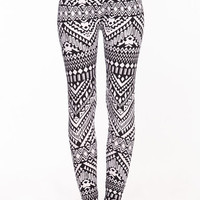 HIGH WAIST TRIBAL LEGGINGS