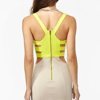 Colorblock Corset Dress