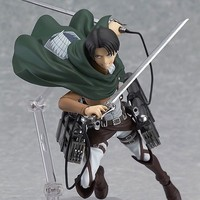 Attack on Titan Levi Shingeki no Kyojin PVC 213 figma 14cm Action Figure Fashion