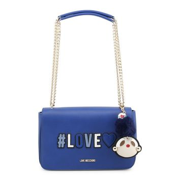 Love Moschino Blue Shoulder Bag